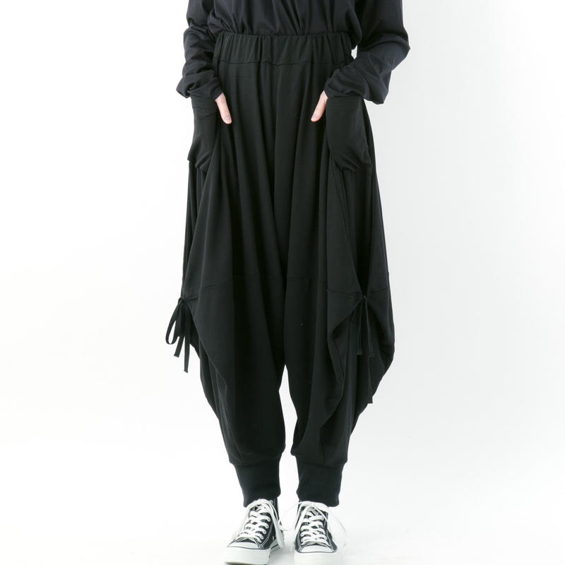 【19-20A/W 受注予約商品】《BLACK by -niitu-》 Ramiel pants (BLACK)