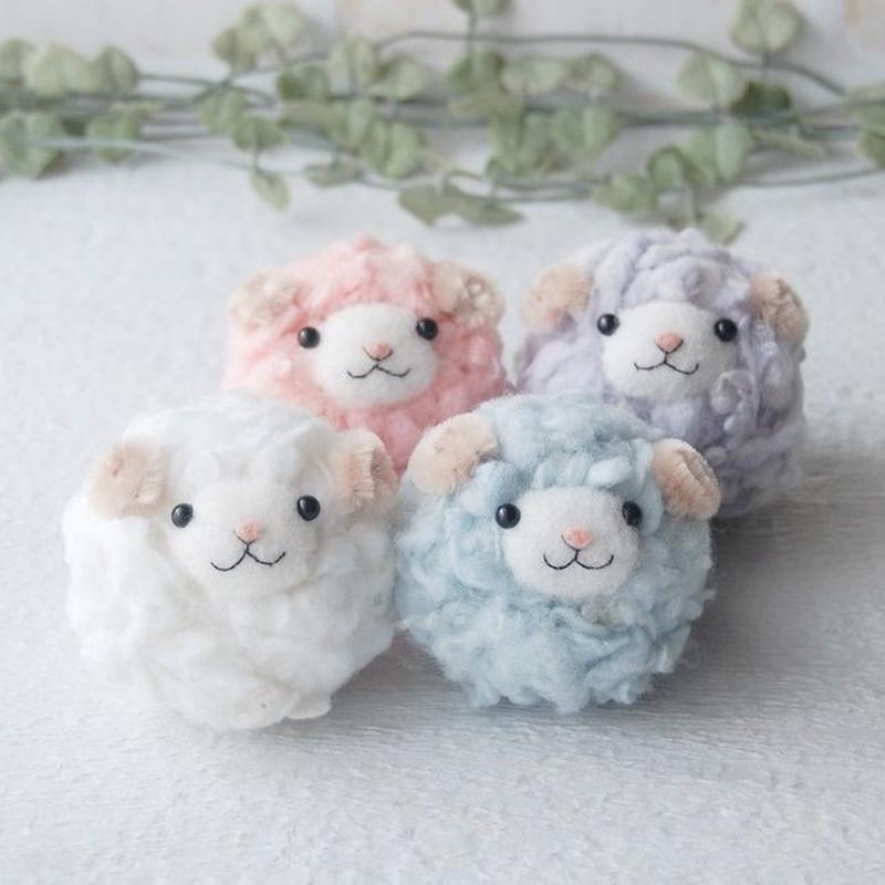羊毛フェルトキット【1】かんたんひつじちゃん