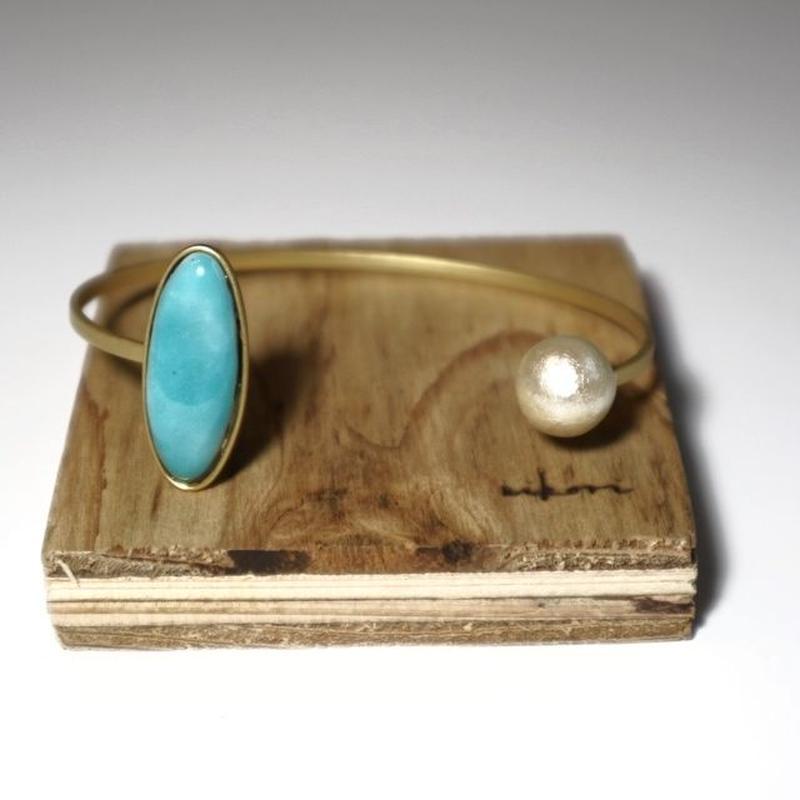 七宝  bracelet _ turquoise