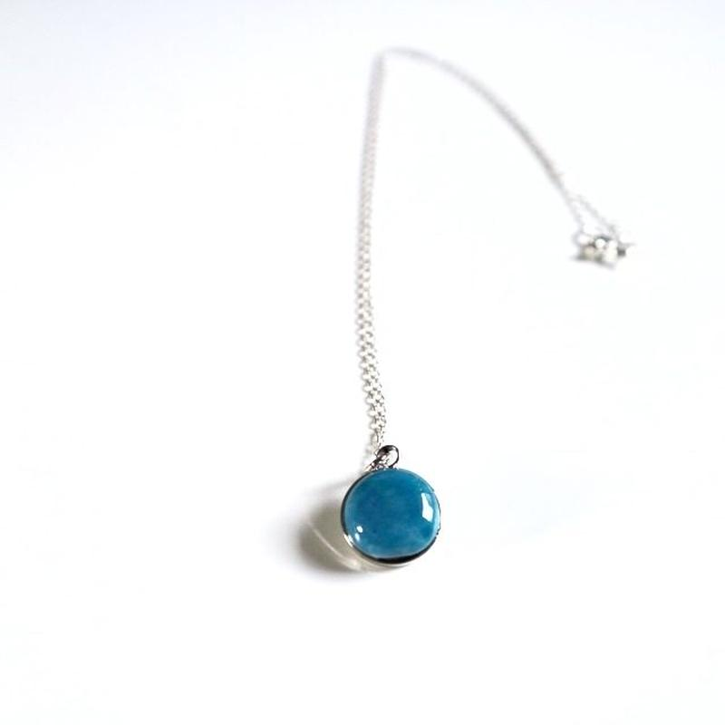 七宝 necklace _ turquoise