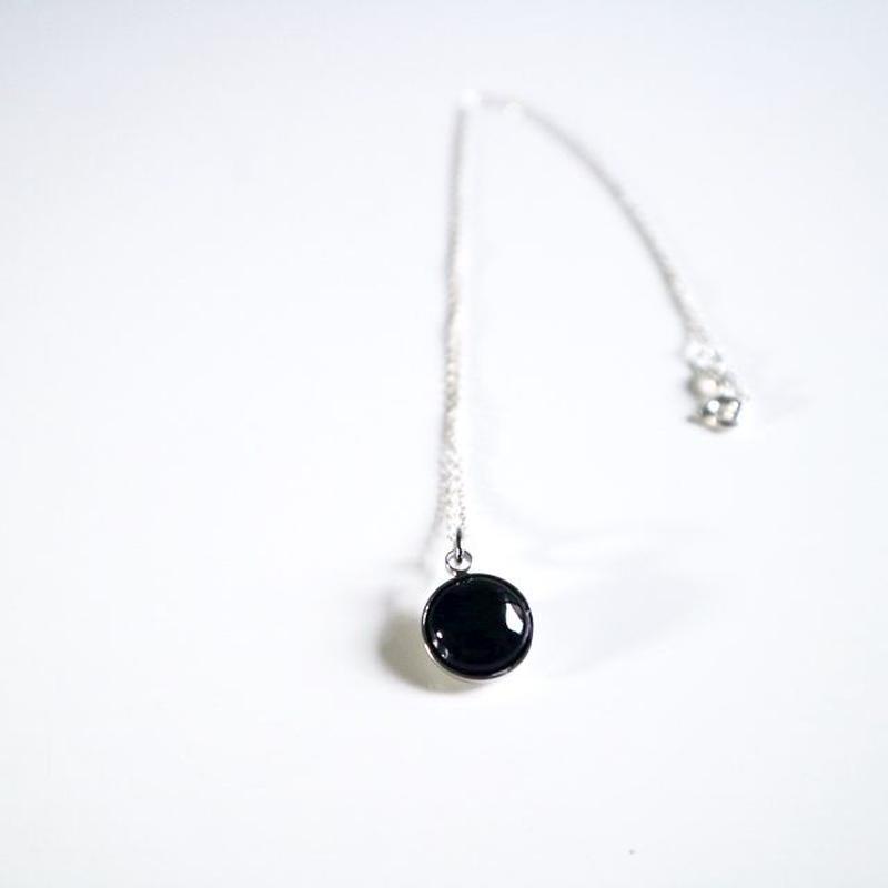 七宝 necklace _ black