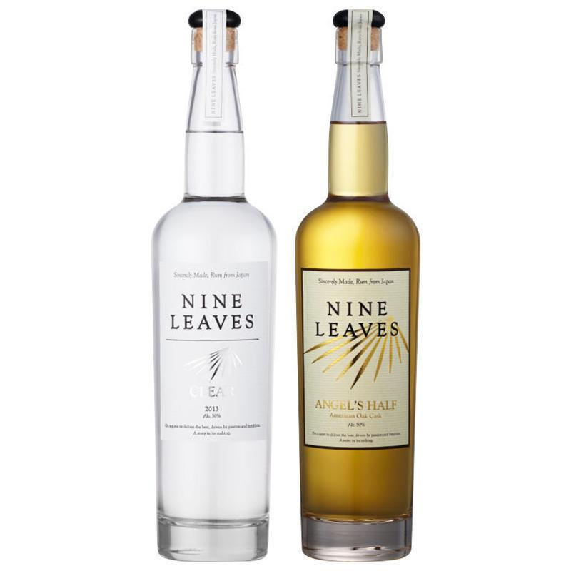 【2本セット】NINE LEAVES CLEAR&ANGELE'S HALF American Oak Cask テイスティングセット