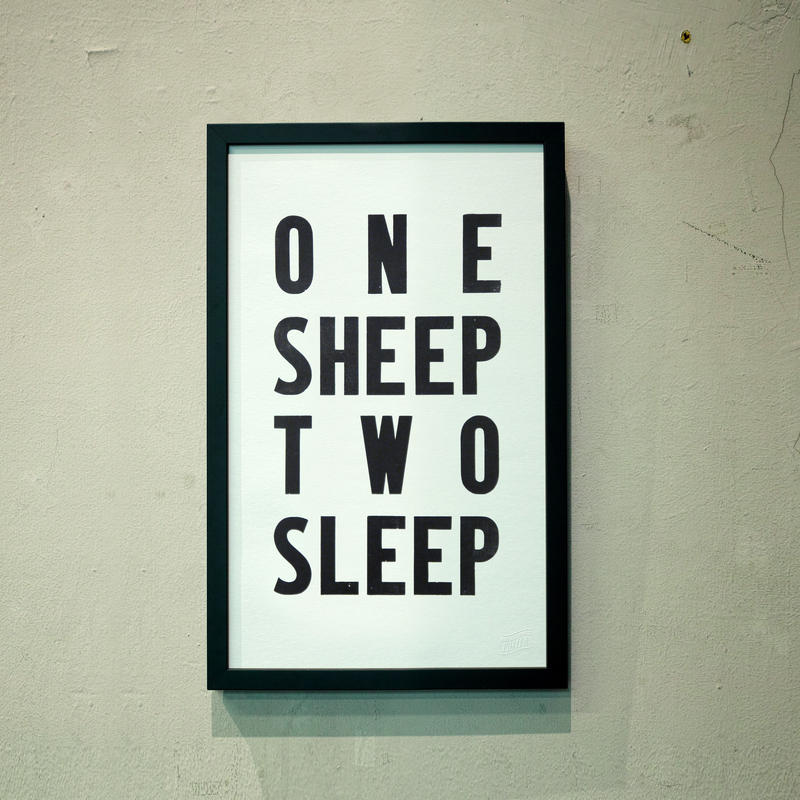 ONE SHEEP TWO SLEEP