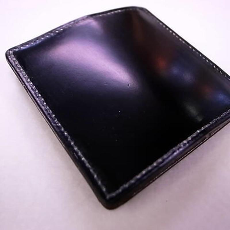ジャパンブラックコードバンコインケース