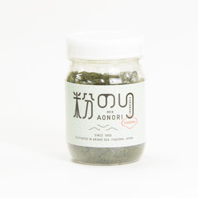 福岡県西田剛が作った『青海苔粉』