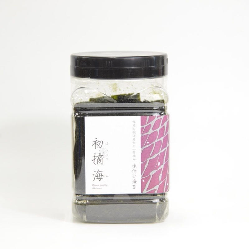 福岡県大川漁業協同組合研究会の「初摘海 卓上味付け海苔」(八切り80枚入)