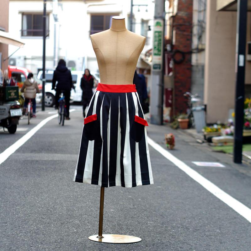 ☆お手伝いスカート (ストライプ)