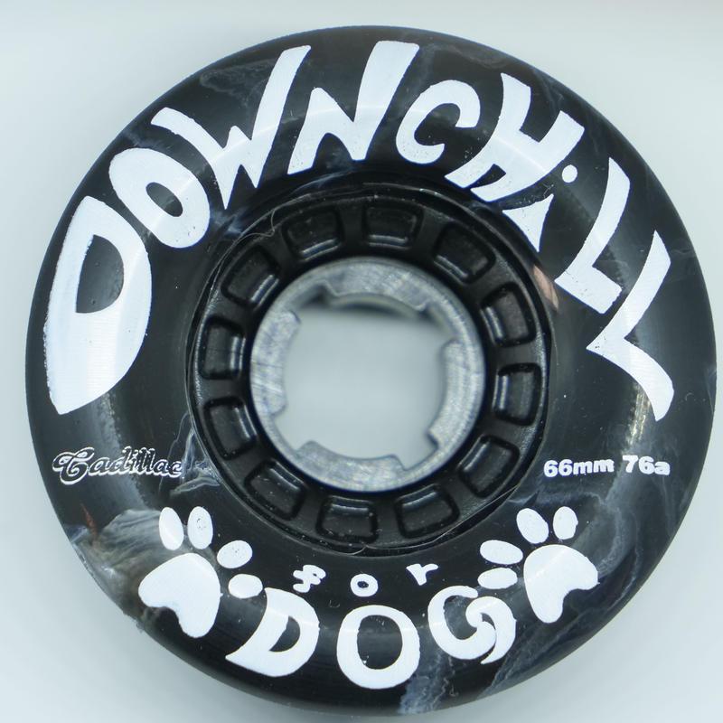 DOWNCHILL WHEEL < For dog BLACK > 66mm