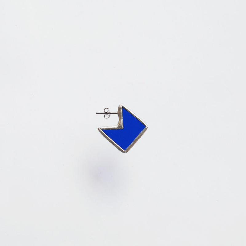 square fragment piace / S / blue
