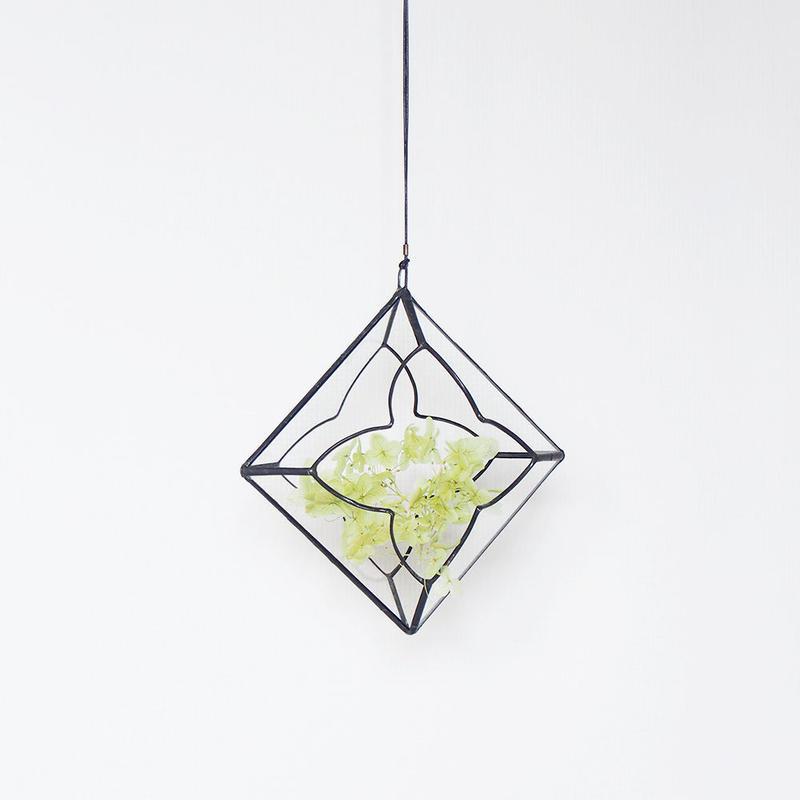 hanging flowervase/ryoka/black