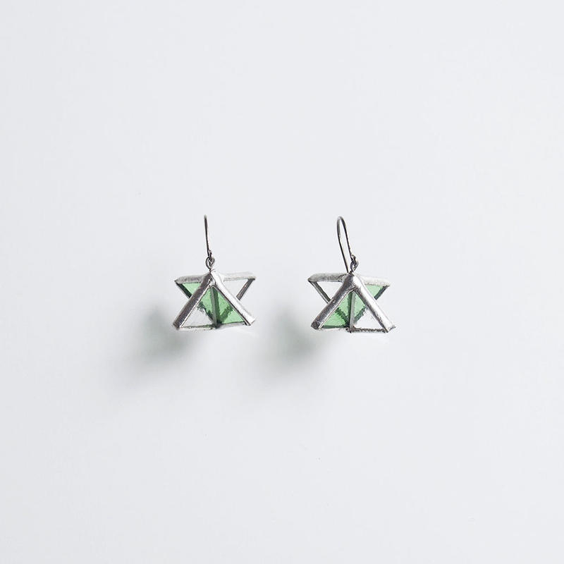 rhombus pierce/green