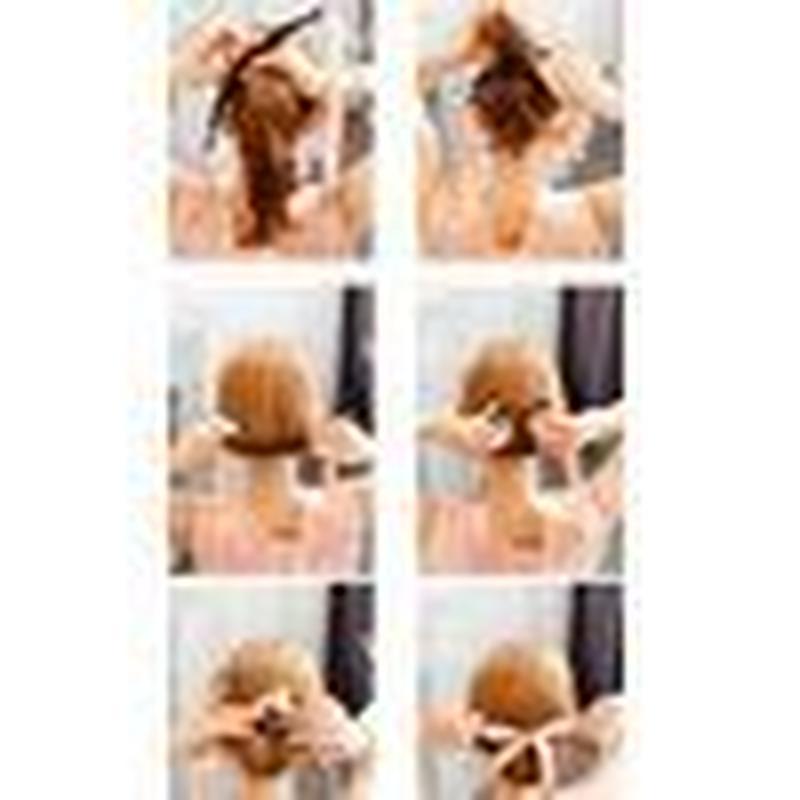 ブラックリボン お団子ヘア ヘアアレンジ 髪 ヘアメイク おだんごヘア