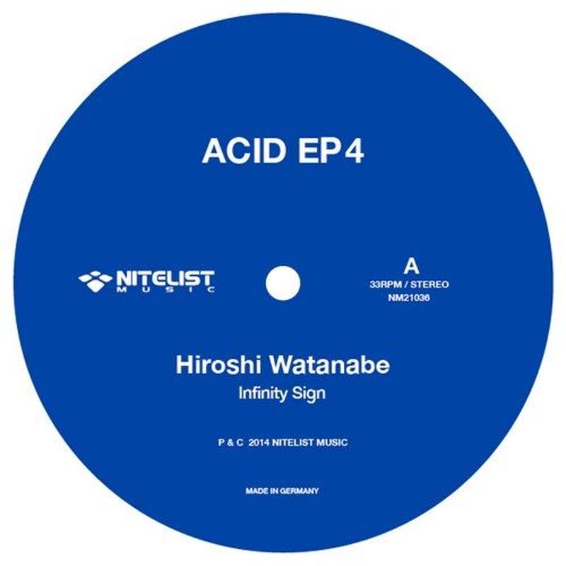 """ACID EP 4 ( 12"""" Vinyl Record )"""