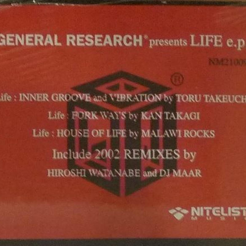 GENERAL RESEARCH PRESENTS / LIFE E.P.