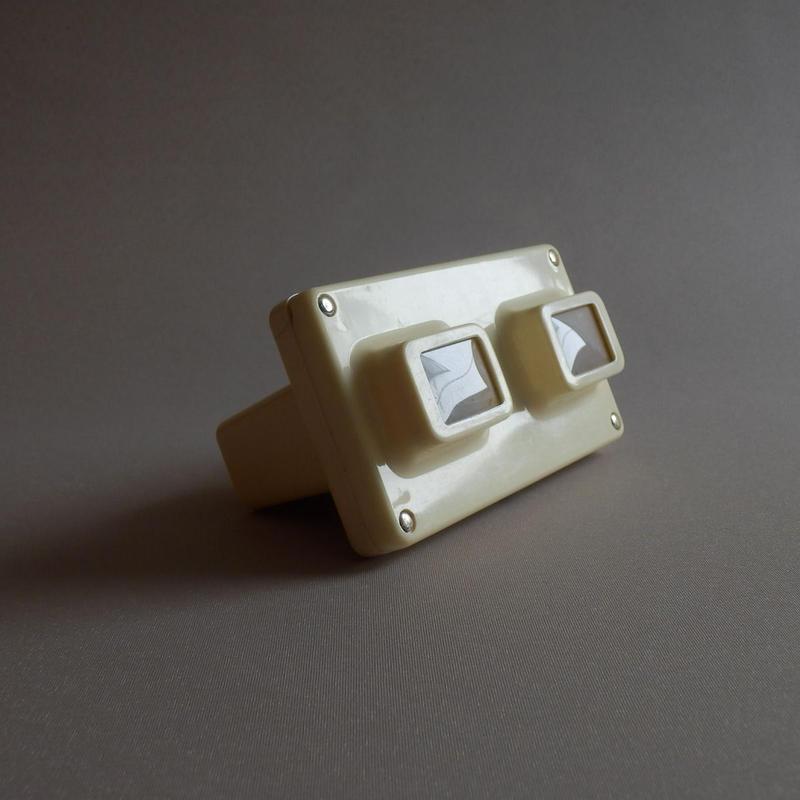 NT079 ステレオ・スコープ+3Dカード(スライド)のセット