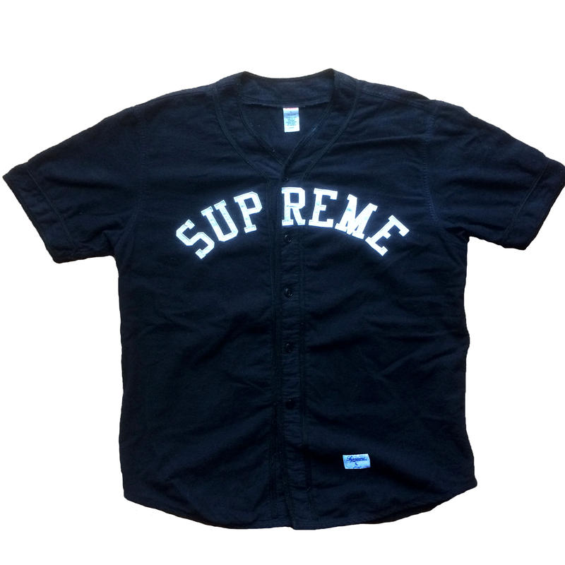 2010AW SUPREME BASEBALL SHIRT
