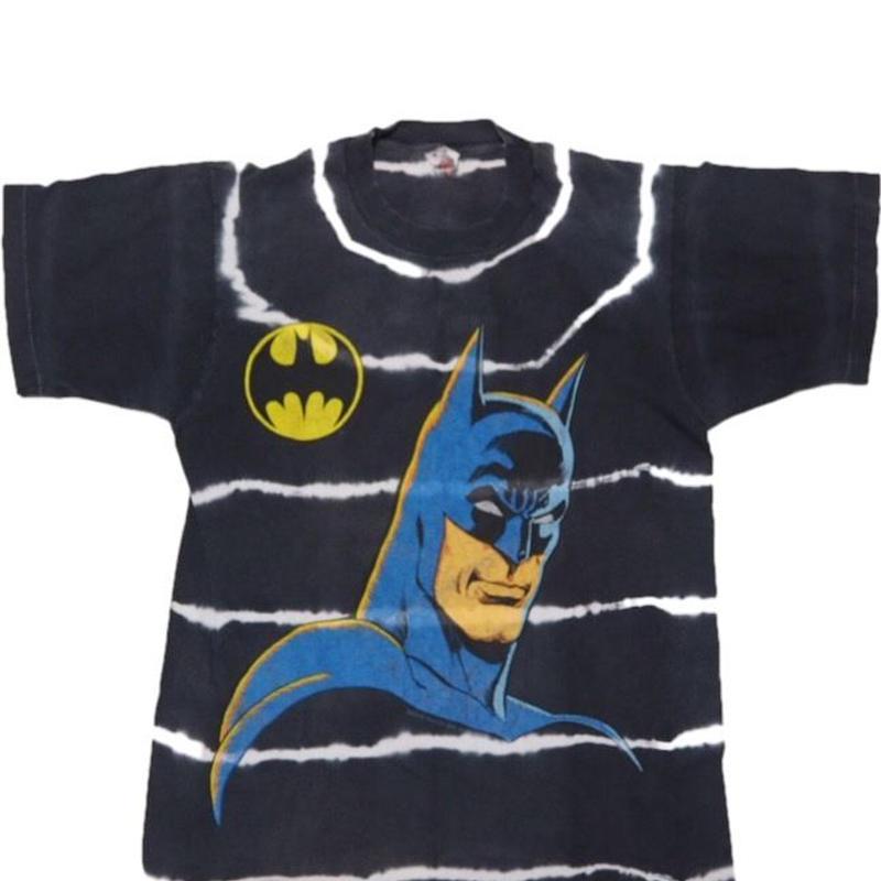 1989's BAT MAN T-shirts レアデザイン 表記(M)