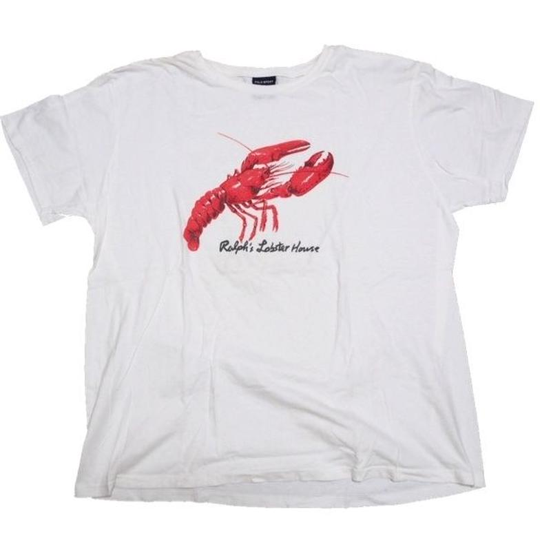 1990's POLO SPORT ロブスターT-shirts  表記(XL)