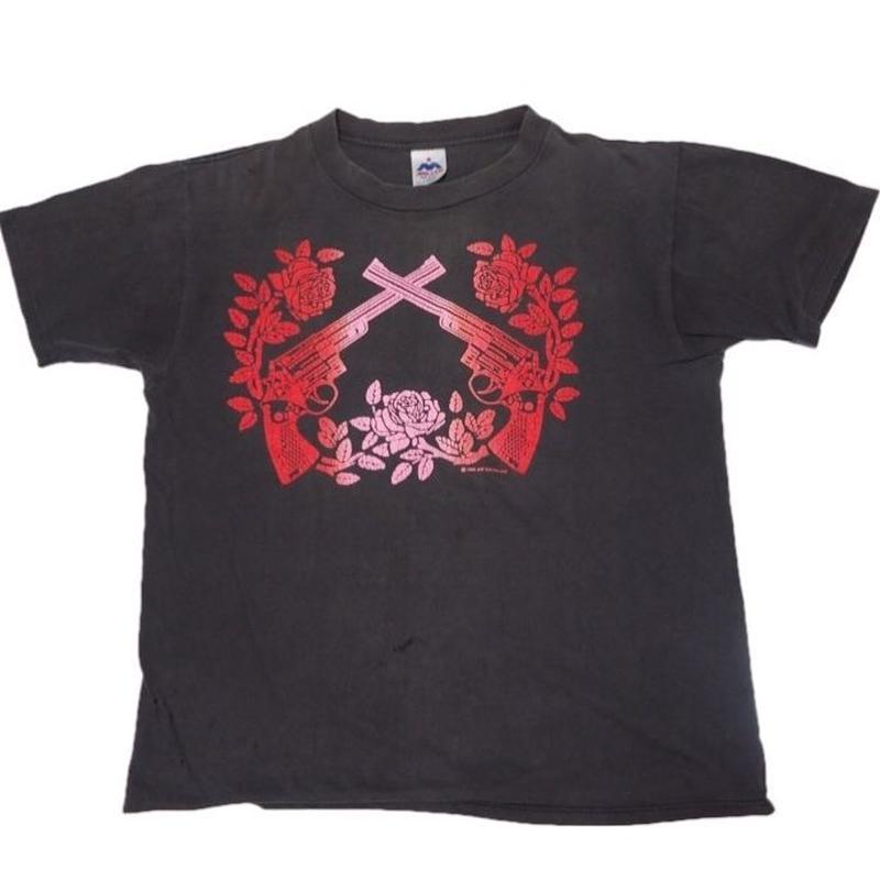 1988's USA製  Guns N' Roses  レアプリントT-shirts 表記(L)