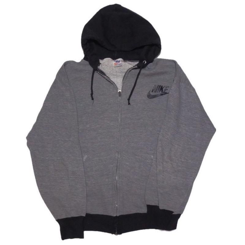 1970's NIKE sweat zip hoodie   オレンジタグ    表記(M)