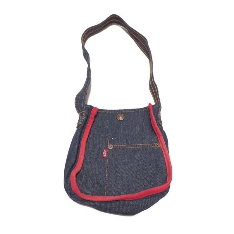 1980's Levi's denim bag