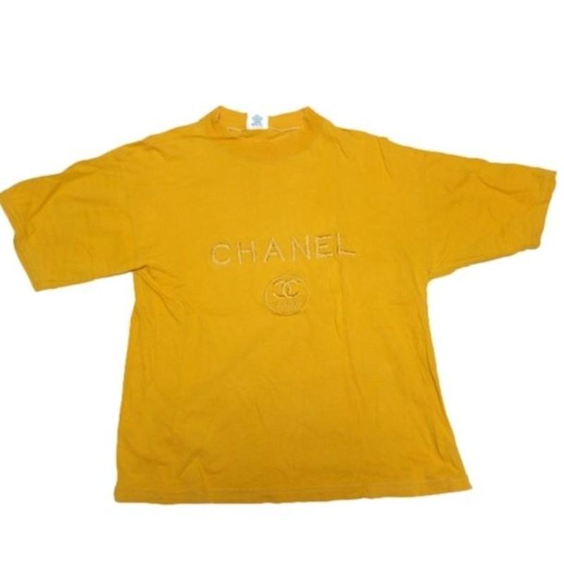 1980's CHANEL bootleg t-shirts  表記(M)