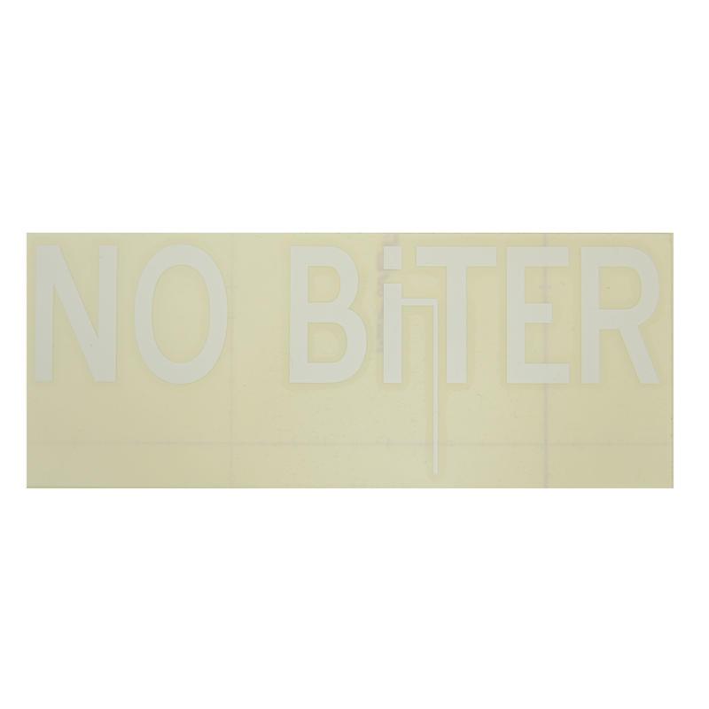 [NOBiTER/ノーバイター]NBロゴカッティングシート(大)(200ミリ×80ミリ) nbt174004