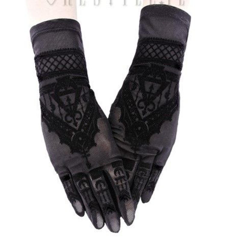 RE-469 Henna Gloves<BLK>