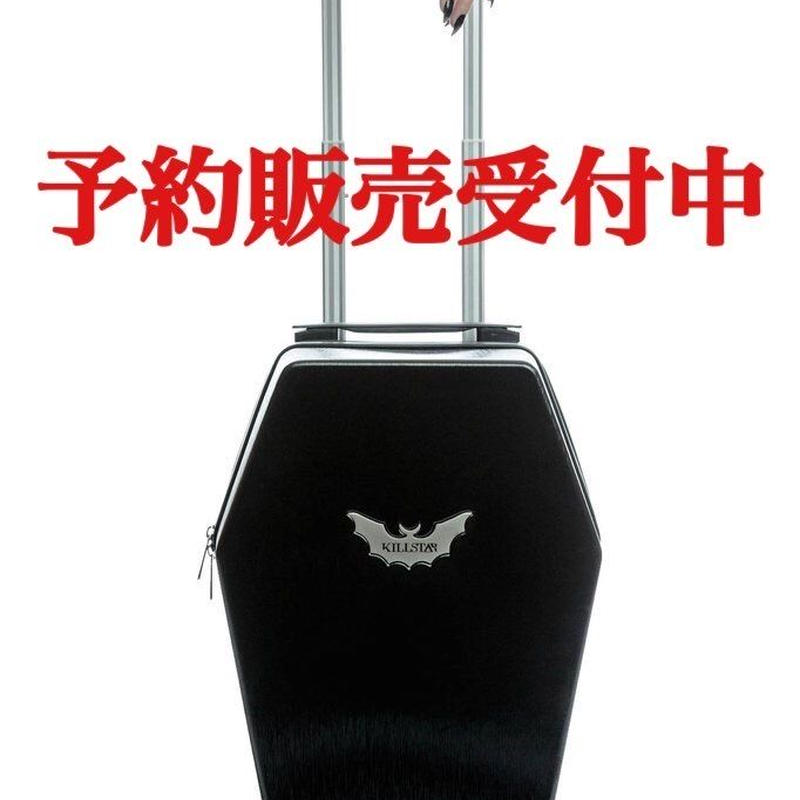 【予約販売】KILLSTAR Casket Carry Case<BLK>