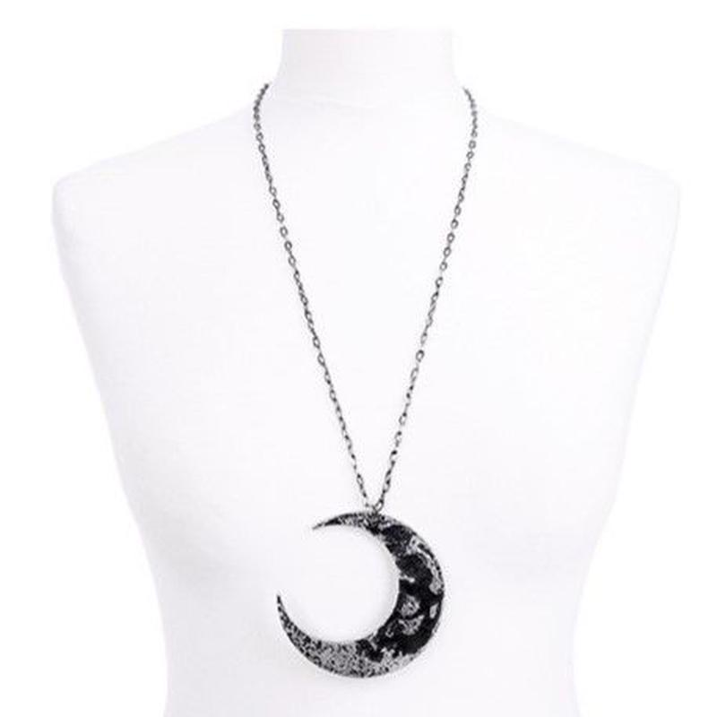 RE-4860 MOON TEXTUERD PENDANT<SLV>