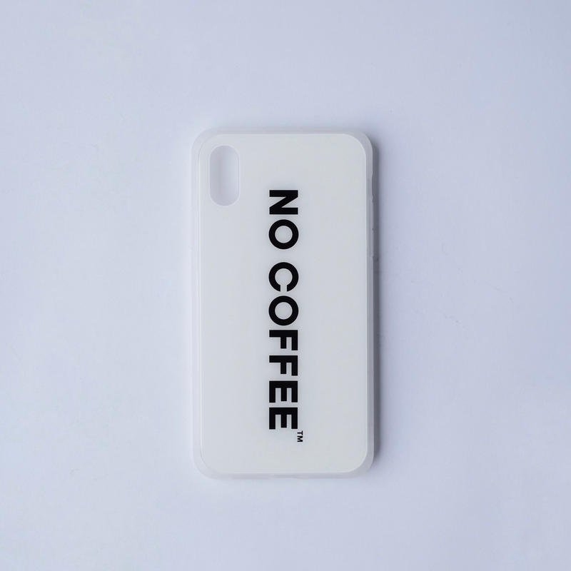 NO COFFEE iPhone XR用ケース ver.2