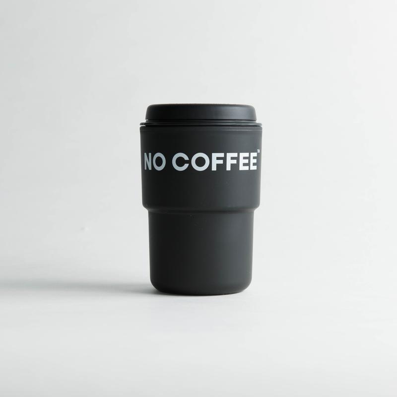 【3月上旬再入荷予定】NO COFFEE タンブラー(ブラック)