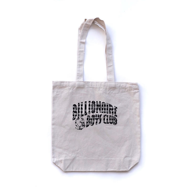 BILLIONAIRE BOYS CLUB × NO COFFEE  BBCロゴトートバッグ(ホワイト)