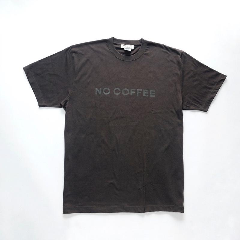 NO COFFEE ロゴTシャツ ダークグレー