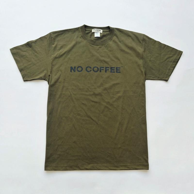 NO COFFEE × GEN GEN AN コラボロゴTシャツ カーキ