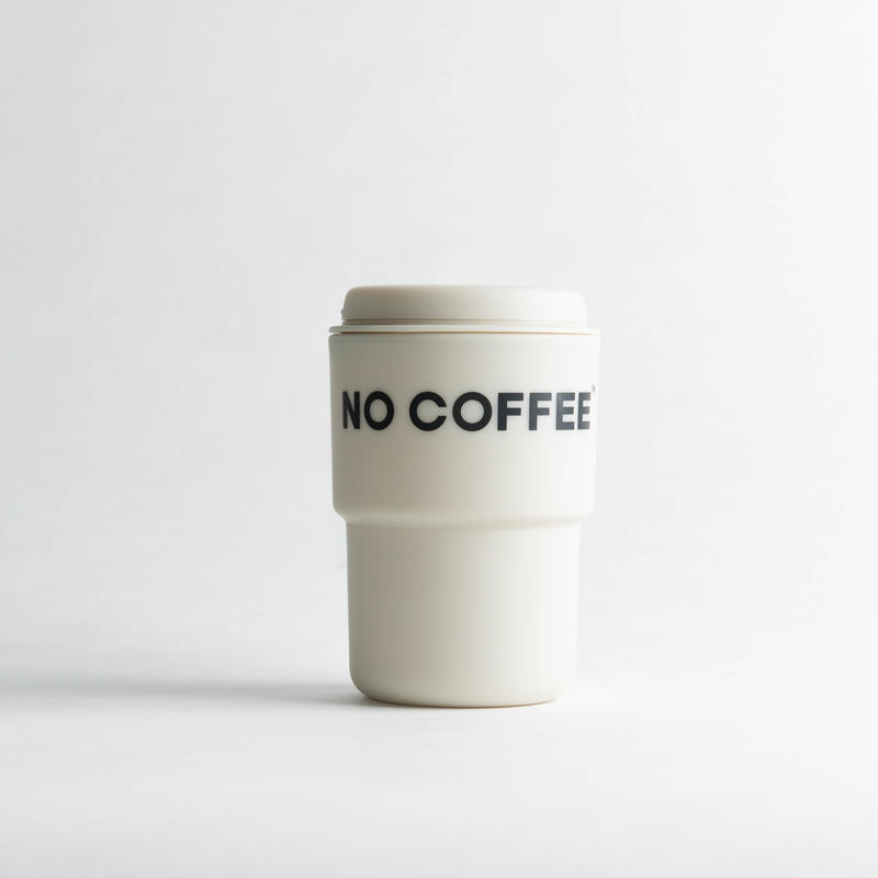 【3月上旬再入荷予定】NO COFFEE タンブラー(ベージュ)