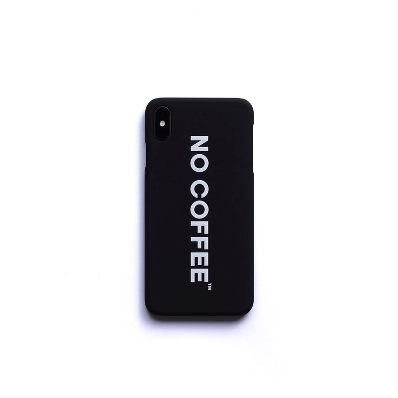 NO COFFEE iPhone Xs Max用ケース