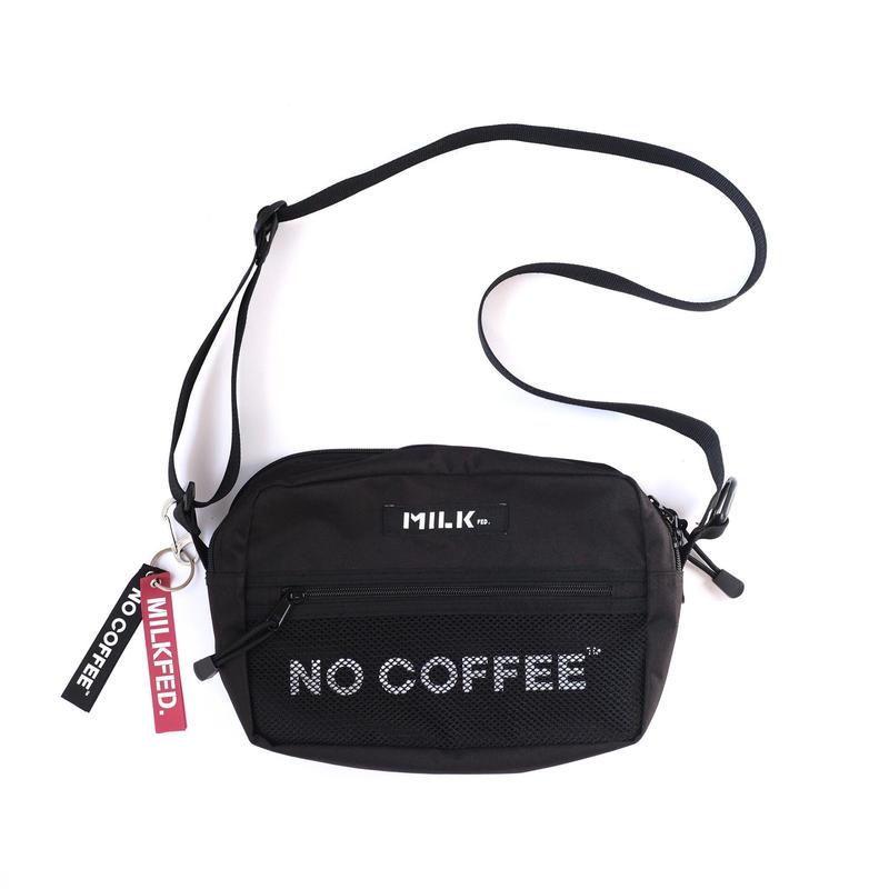 NO COFFEE×MILKFED. SHOULDER BAG
