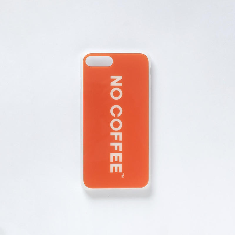 「NO COFFEE COLOR COLLECTION」iPhone 7Plus・8Plus 兼用ケース
