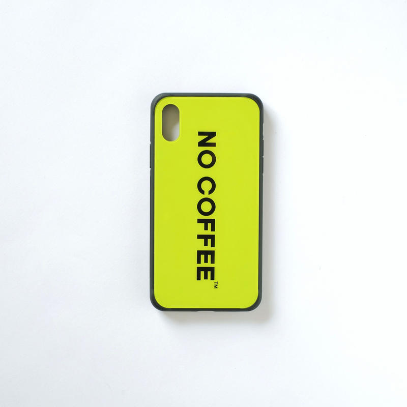 「NO COFFEE COLOR COLLECTION」iPhone XRケース