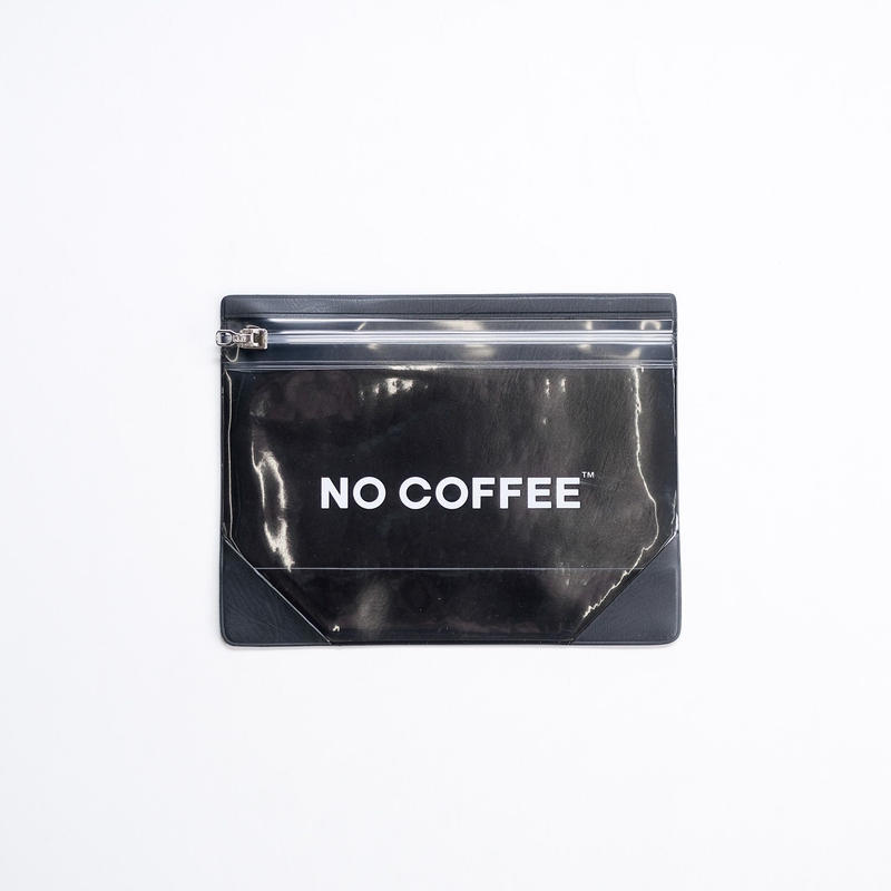 【3月末再入荷予定】NO COFFEE Gusset Pouch M