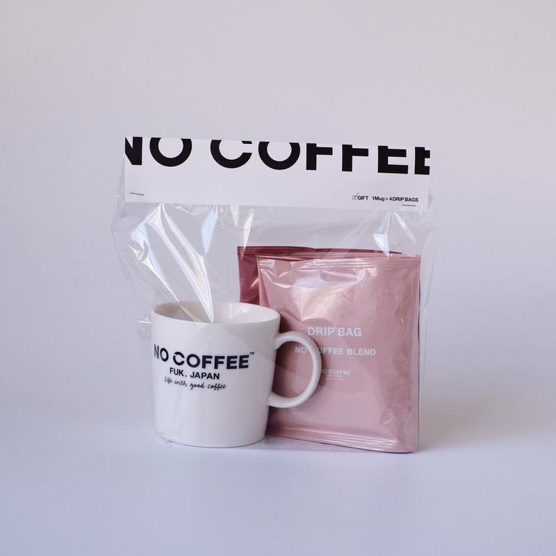 【SEASONAL LIMITED PACK】 マグカップ+DRIP BAG  4個ギフトセット