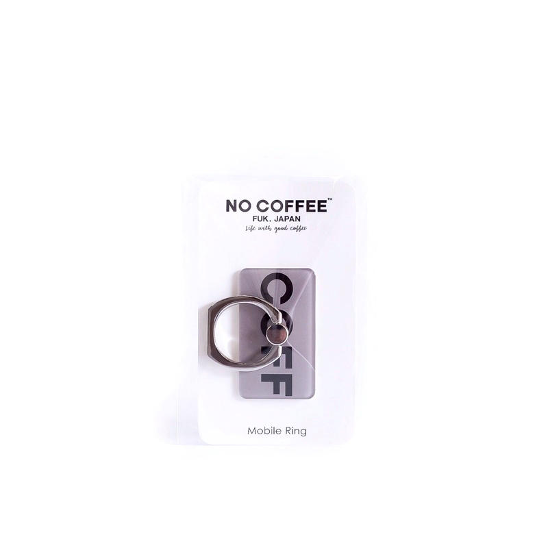 "NO COFFEE Mobile Ring ""COFF""(グレー)"