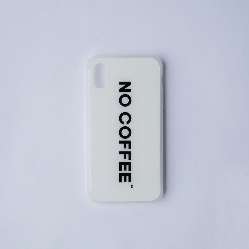 NO COFFEE iPhone X&XS兼用ケース  ver.2