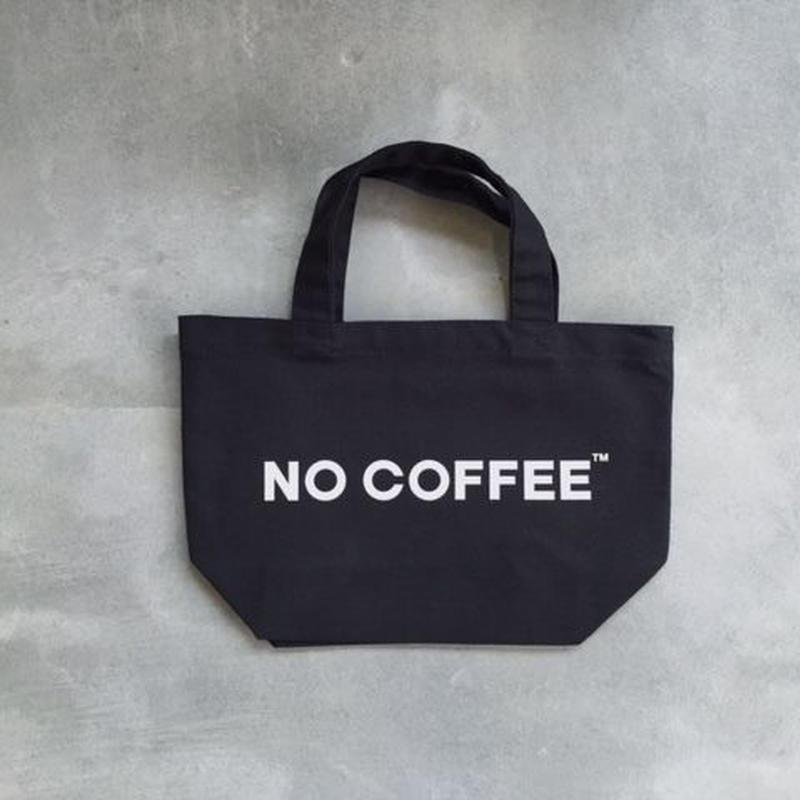NO COFFEE ミニトートバッグ(ブラック)