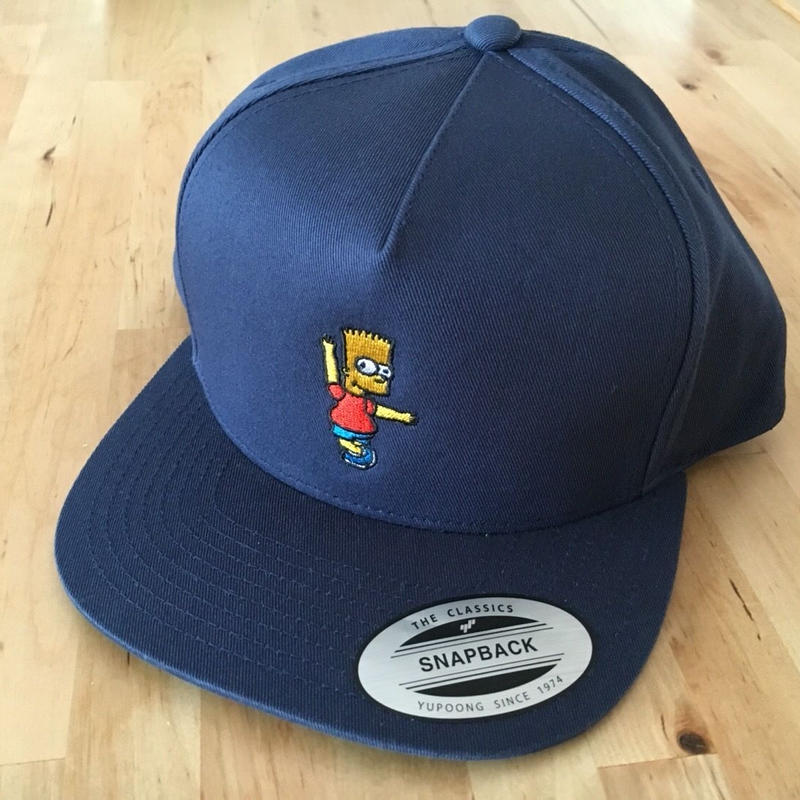"""Smily BART"" Snap Back 5Pannel  CAP"