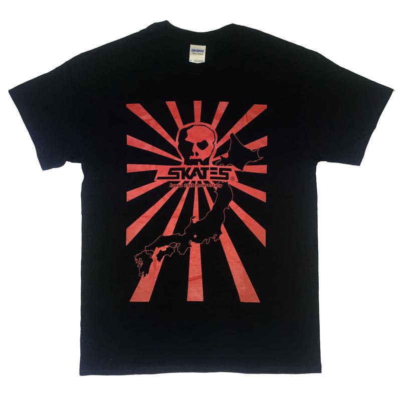 SKULL SKATES JAPAN ANNIVERSARY TEE RED