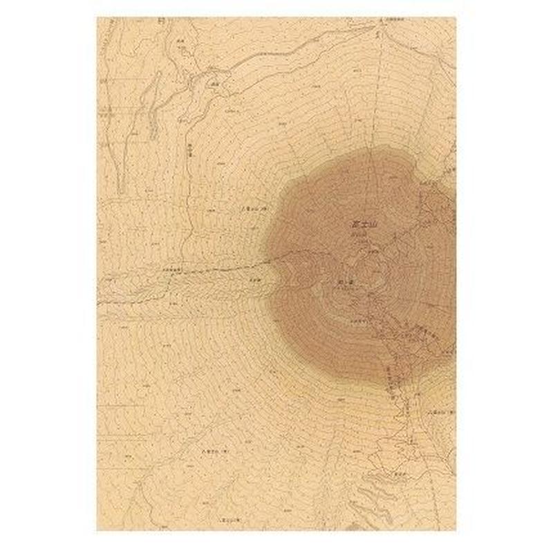 「年輪する擬態地図」ブックカバー