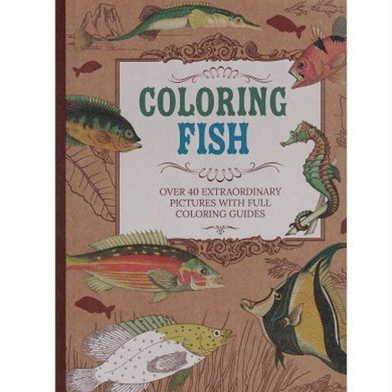 COLORING FISH(塗り絵)