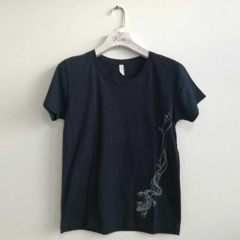 トカゲ-Tシャツ / Lizard T-shirt BK